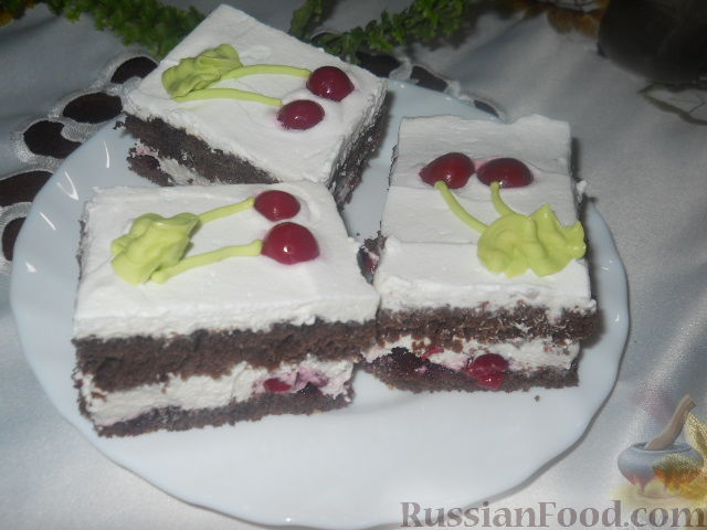 Рецепт Шварцвальдские пирожные
