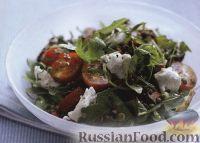 Фото к рецепту: Салат с помидорами и чечевицей