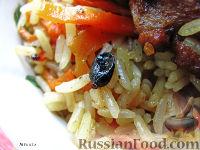 Фото к рецепту: Плов с говядиной
