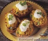 Фото к рецепту: Фаршированная картошка