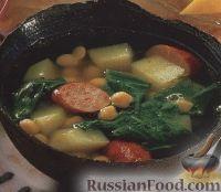 Фото к рецепту: Гороховый суп с салями