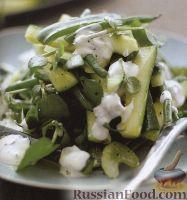 Фото к рецепту: Овощной летний салат