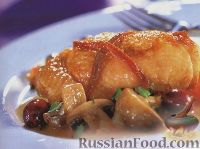 Фото к рецепту: Курица по-провансальски