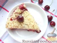 Фото к рецепту: Черешневый пирог
