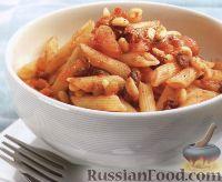 Фото к рецепту: Макароны с сицилийским соусом