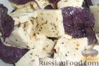 Фото к рецепту: Маринованный сулугуни