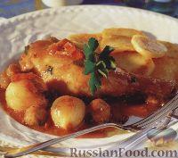 Фото к рецепту: Куриные голени с ароматным соусом