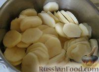 Фото приготовления рецепта: Картофель, запеченный в духовке с сыром - шаг №3