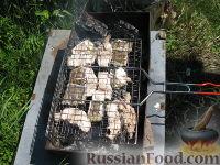 Фото к рецепту: Шашлык из налима