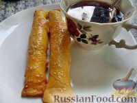Фото к рецепту: Сырные трубочки