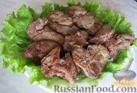 Фото к рецепту: Жареная куриная печень