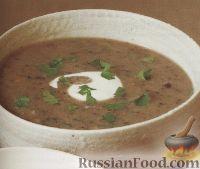 Фото к рецепту: Картофельно-грибной суп-пюре