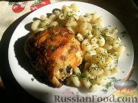 Куриные бедра в духовке