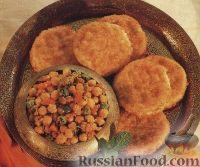 Фото к рецепту: Нут с картофельными котлетами