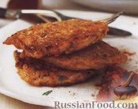 Фото к рецепту: Картофельно-рисовые оладьи