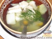 Фото к рецепту: Рыбный суп из сома