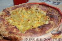 Фото к рецепту: Пирог с ревенем, яблоками и апельсином