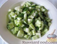 Фото приготовления рецепта: Свекольник холодный - шаг №4
