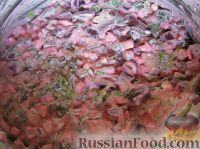 Фото приготовления рецепта: Свекольник холодный - шаг №14