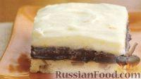 Фото к рецепту: Сливочно-шоколадный пирог с орехами