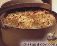 Фото к рецепту: Мясо, запеченное с картофелем