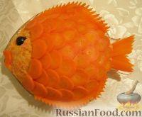 """Фото к рецепту: Салат """"Золотая рыбка"""""""