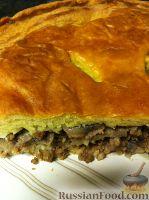 Фото к рецепту: Пирог из индейки