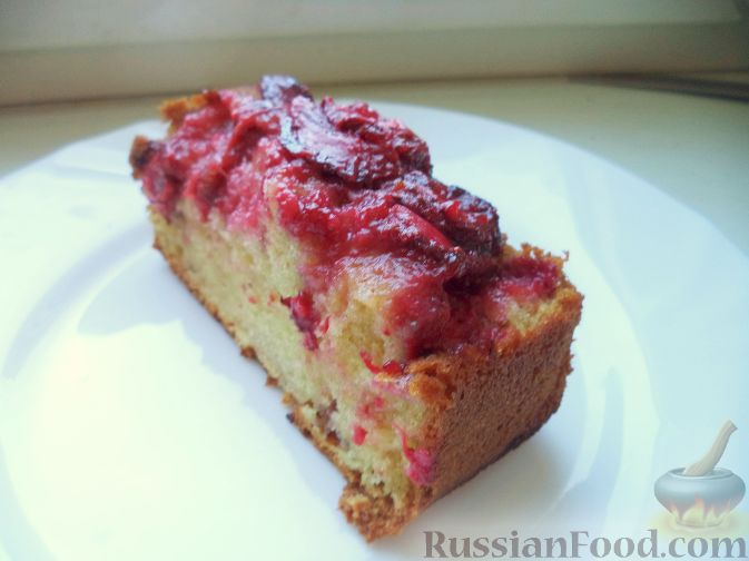 рецепт торт из зернистого творога с клубникой