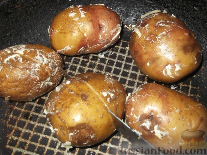 Запекаем картофель рецепт пошагово фото