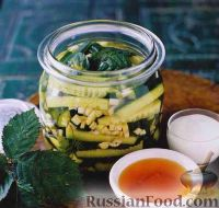 Фото к рецепту: Маринованные огурцы
