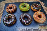 Фото к рецепту: Пончики