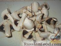 Фото приготовления рецепта: Суп-пюре из шампиньонов - шаг №2