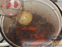 Фото приготовления рецепта: Суп-пюре из шампиньонов - шаг №6