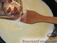 Фото приготовления рецепта: Суп-пюре из шампиньонов - шаг №9