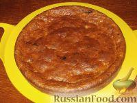 Фото приготовления рецепта: Банановый пирог - шаг №8