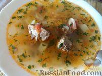 Фото к рецепту: Суп из свинины с вермишелью