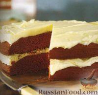 """Фото к рецепту: Торт """"Красный бархат"""""""