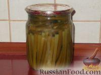 Фото к рецепту: Стрелки чеснока маринованные