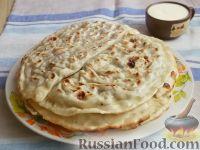 Фото к рецепту: Кутабы (азербайджанские чебуреки)