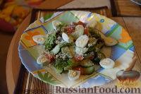 """Фото к рецепту: Легкий овощной салат """"Любимый"""""""