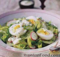 Фото к рецепту: Весенний салат