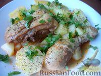 Фото к рецепту: Жаркое с курицей