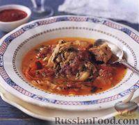 Фото к рецепту: Суп харчо с бараниной