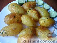 Фото к рецепту: Жареная молодая картошечка