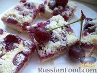 Фото к рецепту: Насыпной пирог