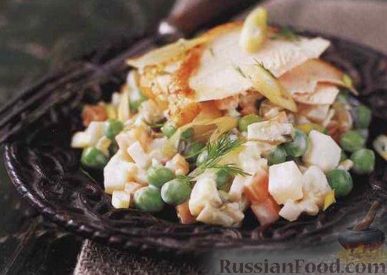Салат столичный с индейкой рецепт 180