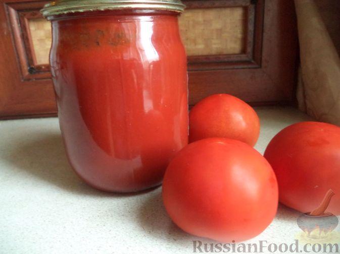 домашняя томатная паста рецепт