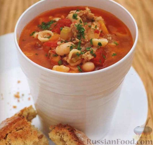 Рецепт вкусного супа из фарша