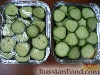 Фото к рецепту: Огурцы ( салат из огурцов )