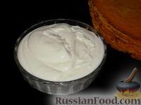 Фото к рецепту: Сметанный крем без желатина